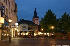 Oberer Markt / Servatius Kirche Siegburg