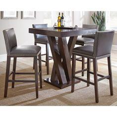 Greyson Living Tisbury 5 Piece Bar Table Set (Tisbury 5PC