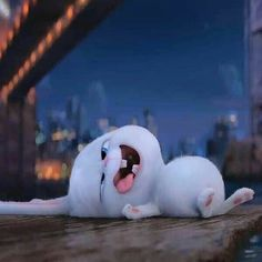 I feel heroic and handsome! A little wet, but I still look good. Secret life of pets Cute Disney Wallpaper, Cute Cartoon Wallpapers, Cartoon Memes, Cartoon Pics, Cartoons, Snowball Rabbit, Cute Bunny Cartoon, Rabbit Wallpaper, Disney Icons