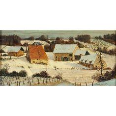 Snowy Landscape von Albert Drachkovitch
