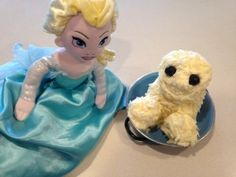 Cream cheese Snowgie #Frozen #Fever party