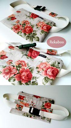 Rosy hipsack by Rekaboo #hipsack #move #girlstyle #rekaboo #handmadebag #sewwithlove #skatebag #urbanstyle #rose