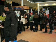 Canada Job Fair Network March 8th 2013. Air Canada Centre. Downtown Toronto.