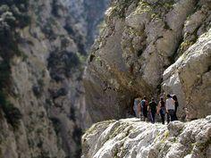Un paseo por una garganta de aguas turquesa en España (Ruta del Cares)