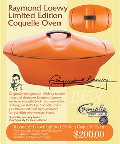 Raymond Loewy - Dutch Oven - Coquelle
