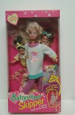 Babysitter Skipper Barbie  With 3 Triplet Babies  1994 Mattel New in Box