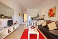 One of our Yucca Park apartments to rent in Fanabe, Tenerife. This lovely apartment has been fully refurbished in a modern style with a washing machine. Lovely Apartments, Tenerife, Washing Machine, Corner Desk, Park, Modern, Furniture, Home Decor, Style