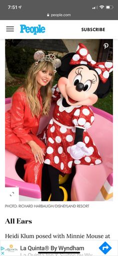 How To Style Bangs, Heidi Klum, Minnie Mouse, Poses, People, Figure Poses, Folk