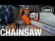 How to Clean an Air Filter in a Husqvarna Chainsaw - YouTube