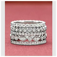 Stackable sparkle...
