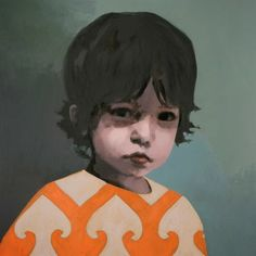 British artist Claerwen James specialises in portraiture, particularly of young people. http://mamaesabetudo.blogspot.com.br