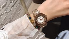 Cool Watches For Women, Watch Video, Make Time, Bracelet Watch, Stuff To Buy, Accessories, Style, Fashion, Watches