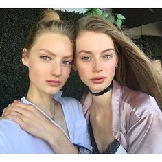 2016/06/25 06:02:13 whymodels Dutch babes SUSANNE KNIPPER and LAUREN DE GRAAF hanging out in New York City