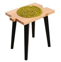 Creative wooden stool design