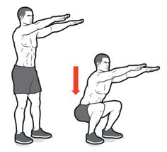 Body Weight Circuit, Body Weight Squat, Weight Loss Workout Plan, Hiit, 30 Minute Cardio Workout, Bodyweight Routine, Ad Workout, Kick Boxing, Crossfit