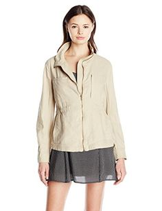 Unionbay Womens Bryce Utility Jacket Beige Large -- Find out more about the great product at the image link.