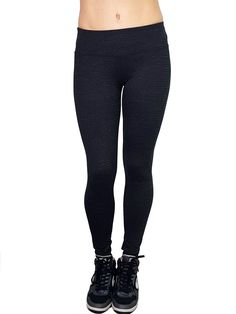 36999076b3d82 Hard Tail Forever - Flat Waist Ankle Legging - Black