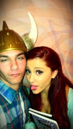 """Tbt 2 when I met Ariana Grandè and legit jizzed in my pants (pic mid jizz)"" Ariana Grande, Victorious Cast, Cat Valentine, Moonlight, The Incredibles, Peeps, Fans, Women's Fashion, Queen"