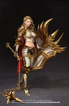 f Cleric hilvl Medium Armor Shield Magic Flail underdark female Planes Traveler lg Fantasy Female Warrior, Female Armor, Female Knight, Warrior Girl, Fantasy Armor, Medieval Fantasy, Warrior Princess, Female Character Design, Character Concept