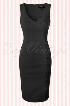 Fever Julia Black Pencil Dress 100 20 13949 20150302 0003W