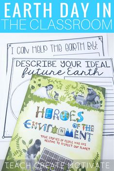 Great read alouds and activities for Earth Day in the classroom from Teach Create Motivate.