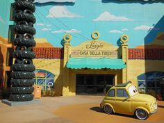 Disney's Art of Animation:  Luigi's Casa Della Tires