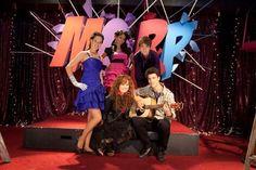 "Radio Rebel  Network: Disney Channel Original Movie   Original Air Date: 2012  The movie is based on a novel titled ""Shrinking Violet."""