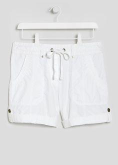 Poplin Shorts Matalan, Poplin, White Shorts, Holidays, Shopping, Women, Fashion, Vacations, Moda