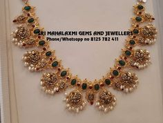 Gold Bangles Design, Gold Earrings Designs, Gold Jewellery Design, Gold Jewelry, Beaded Jewelry, Gold Designs, Antique Jewellery, Pearl Jewelry, Diamond Jewelry