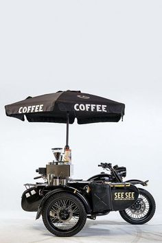 But first coffee Coffee Carts, Coffee Truck, Mobile Coffee Shop, Velo Cargo, Moto Cafe, Coffee Business, Food Truck Design, Food Trailer, Coffee Shop Design