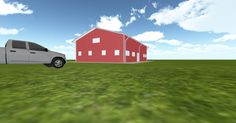 Dream #steelbuilding built using the #MuellerInc web-based 3D #design tool http://ift.tt/1Omfp3z
