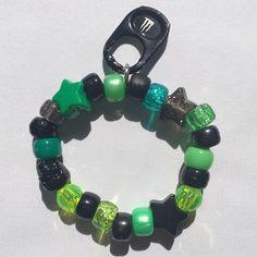 Pony Bead Bracelets, Kandi Bracelets, Cute Bracelets, Pony Beads, Handmade Bracelets, Handmade Jewelry, Emo Jewelry, Cute Jewelry, Kandi Cuff
