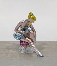 Jeff Koons, Seated Ballerina, 2010-2015