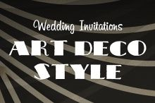 Design Your Perfect Wedding Invitations: Art Deco/Gatsby Style ~~ The 1920s were an age filled with elegance, champagne, wild parties, and a roaringly fun lifestyle. Music was constantly in the air, and the world was entirely your canvas to create whatever you wanted. Recently, with the release of the new film The Great …