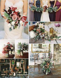 Fall wedding color scheme @Denise H. H. grant Landis