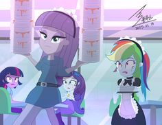 MLP Part time work by 0Bluse on DeviantArt