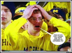 Michigan wolverines, Ohio State Buckeyes, Jim Harbaugh, Urban Myers. Booger