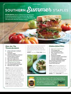 Sandwiches Tomato Sandwich, Breaded Chicken, Chicken Salad, Sandwiches, Lunch, Beef, Hot, Recipes