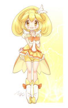 SO cute! .....   Cure peace by Teruchan.deviantart.com