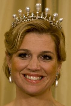 Antique Pearl Tiara of Netherlands.  Royal and Historic Jewelry - Page 3 - the Fashion Spot