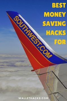 I love flying Southwest and fly it almost exclusively. Over the years, I've learned a lot about how to save even more money at one of the most affordable airlines. Learn my best money saving hacks for Southwest Airlines today. tips to save money on travel Ways To Save Money, Money Tips, Money Saving Tips, Saving Time, Saving Ideas, Budget Travel, Travel Tips, Travel Hacks, Cheap Travel
