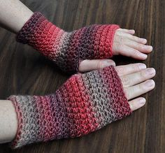 Everyday Fingerless Gloves by Cathy Campbell
