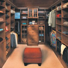Custom storage details like the hutch along the back wall put your favorite accessories on display