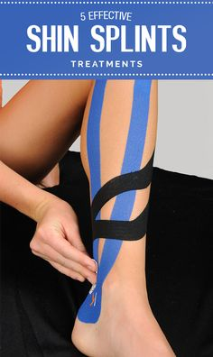 Effective shin splints treatment for runners, please read on to prevent shin splints Shin Splints Taping, Shin Splint Exercises, Stretches For Shin Splints, K Tape, Stretches For Runners, Dynamic Stretching, Running Injuries, Kinesiology Taping, Half Marathon Training