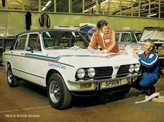 Triumph Dolomite Sprint - From the 70's Rally Era