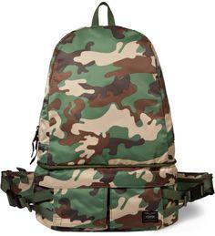 Head Porter Camo Ambush 2 Way Day Pack