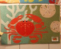 Red Crab Jellybean Rug