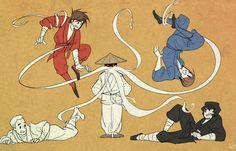 When sensei wu gets mad (Ninjago fanart)