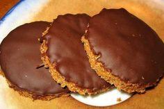 Receta de Galletas integrales con chocolate