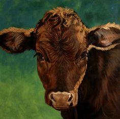denise rich cow paintings | Denise Rich